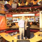 Judith's Tour of the CBS Studio
