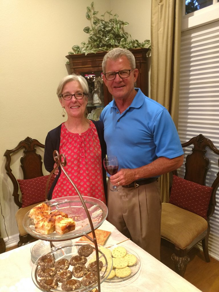 Dugie and David Graham, Hosts of the Reader's Circle Party