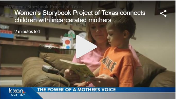Project helps imprisoned moms read to their kids – KXAN