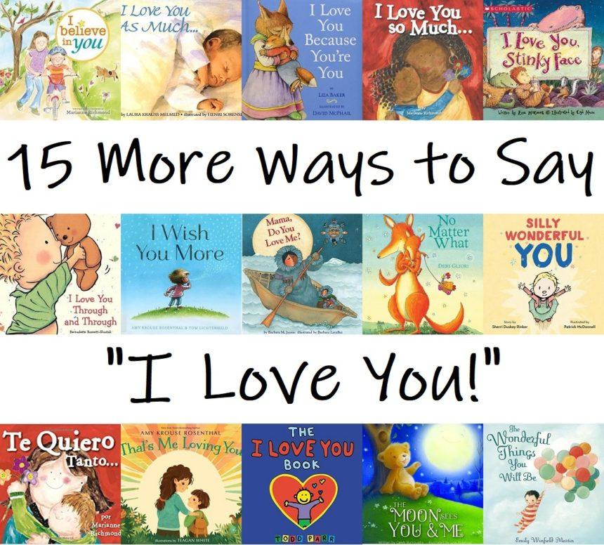 """""""I Love You"""" Books"""