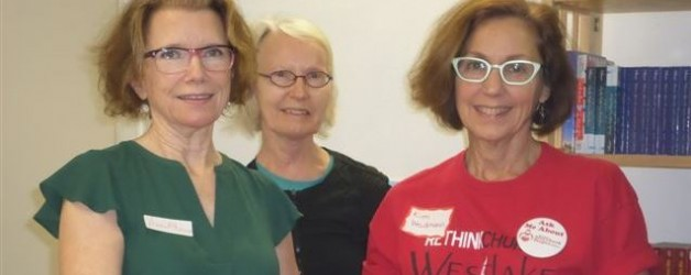 "WSP volunteers – ""Rethink Church"" event"