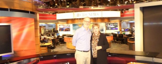 Judith's Tour of the CBS Studio